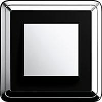 GIRA, ClassiX, Цвет: Хром/Черный