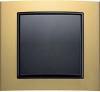 Berker B.3, Цвет: Золотой/антрацит