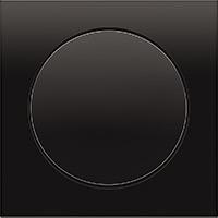 Berker R.3, Рамка: черный. Вставка: черный. Пластик