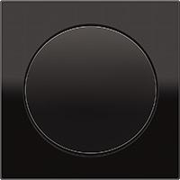 Berker R.3, Рамка: черный. Вставка: черный. Стекло
