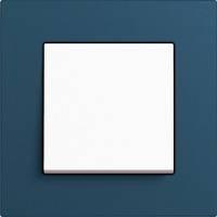GIRA, Esprit, Цвет: Синий Linoleum-Multiplex / Белый матовый