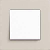 GIRA, Esprit, Цвет: Светло-серый Linoleum-Multiplex / Белый матовый