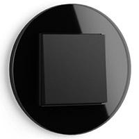 GIRA, Studio, Скрытый монтаж, Цвет: черное стекло