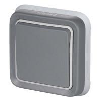 Legrand, Plexo IP55, Встроенный монтаж, Цвет: Серый