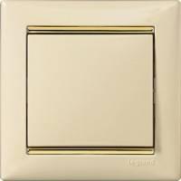 Legrand, Valena,вцвц Цвет: Слоновая кость / Золотой штрих
