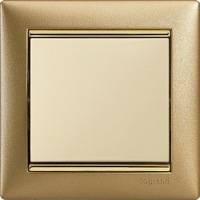 Legrand, Valena, Цвет: Матовое золото