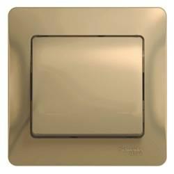 Schneider Electric, Glossa, Цвет: Титан