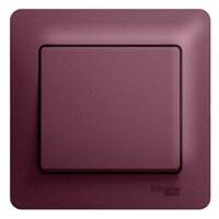 Schneider Electric, Glossa, Цвет: Баклажановый