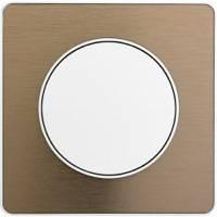 Scheider Electric, Odace, Цвет: Полированная бронза (поверхность металл)