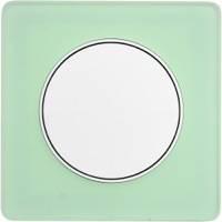 Scheider Electric, Odace, Цвет: Зеленый лед