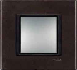 Schneider Electric, Unica Class, Цвет: Темная кожа