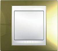 Schneider Electric, Unica Хамелеон, Цвет: Золото (поверхность металл)