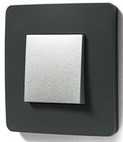 Schneider Electric, Unica Studio Color, Цвет: Дымчато-серый/Алюминий