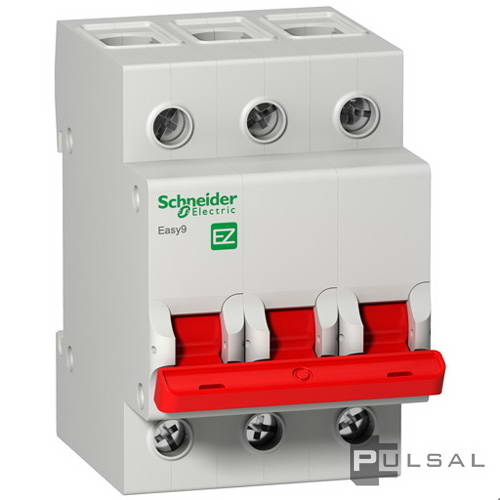 ����������� �������� (��������� ���������) 400� Easy 9, 3 ������, 40�, EZ9S16340, Schneider Electric - PULSAL.RU