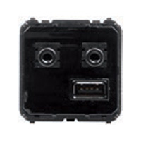 Модуль USB / Bluetooth / minijack 3,5мм Zenit,  SKY,  Olas,  Tacto,  9368.3, ABB - PULSAL.RU