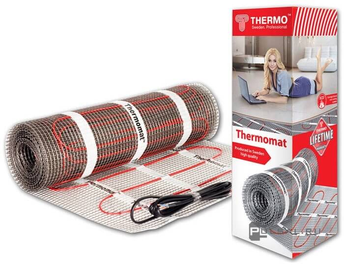 �������������� ��� 1560��, 12 �.�� Thermomat TVK-130, ��� ������ �����, TVK-130-12 set, Thermo - PULSAL.RU