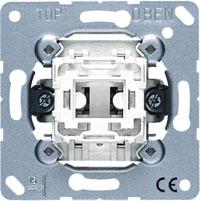 501U, Выключатель A 500, A creation, A 550, A flow, A plus, AS 500, AS 500 Ударопрочная, AS 500 Антибактериальная, CD 500, CD ударопрочная, CD plus, LS 990, LS plus, LS 990 Les Couleurs Le Corbusier, LS ZERO, LS-design, SL 500, одноклавишный, без подсветки, с возможностью подсветки, безвинтовые клеммы, JUNG