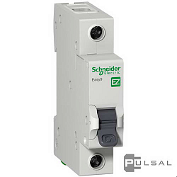 �������������� ����������� Easy 9, 1 �����, 10�, B, 4,5 ��, EZ9F14110, Schneider Electric - PULSAL.RU