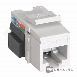 Разъем Modular Jack (тип Keystone/AMP) RJ45 Cat.5e (UTP) Simon 82 Detail,  Simon 82 Nature,  Simon 82,  Simon 73 Loft,  Simon 27 play,  Simon 27 neos,  Simon 27,  Simon 88,  Simon Connect K45 Лючки,  Simon Connect K45 Телеблоки,  одинарная,  двойная, CJ545U, Simon - PULSAL.RU